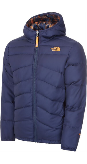 The North Face Boys Reversible Moondoggy Jacket Cosmic Blue